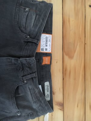 Boss Orange Jeans - Grau - Slim fit - Mid Rise - Strech - Used Effekte - W26/L32 - Neu mit Etikett