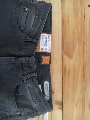 Boss Orange Jeans - Grau - Slim fit - Mid Rise - Strech - Used Effekte - W26/L32 - Neu mit Etikett