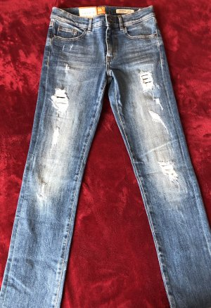 Boss Orange Jeans stretch bleu-bleu clair