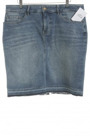 Boss Orange Jeansrock kornblumenblau Jeans-Optik