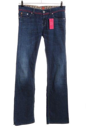 Boss Orange Jeans a zampa d'elefante blu stile casual