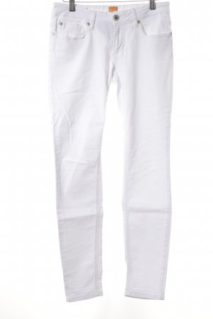 Boss Orange Jeggings white simple style