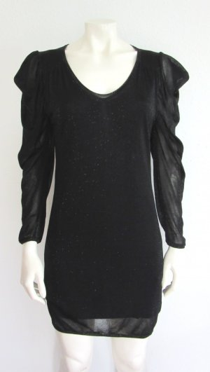 BOSS ORANGE Kleid Gr. L schwarz