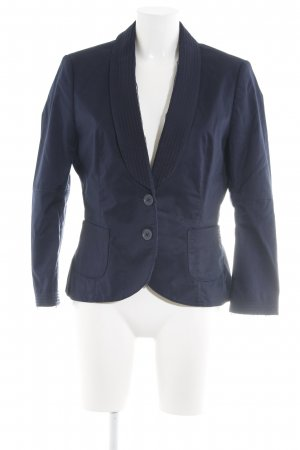 Boss Orange Kurz-Blazer blau Business-Look