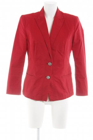 Boss Orange Kurz-Blazer rot Allover-Druck Business-Look