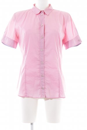 Boss Orange Kurzarm-Bluse pink Business-Look