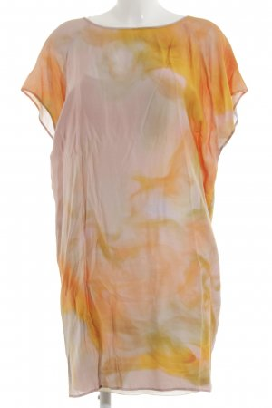 Boss Orange Shortsleeve Dress abstract pattern casual look