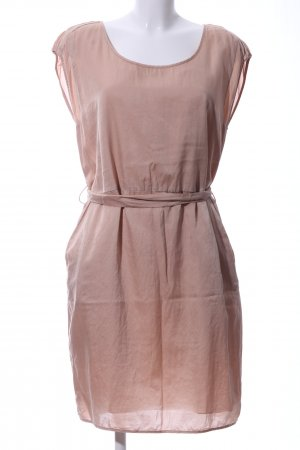 Boss Orange Kurzarmkleid creme Casual-Look
