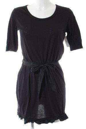 Boss Orange Longshirt schwarz minimalistischer Stil