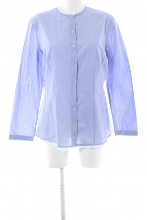 Boss Orange Langarm-Bluse blau Business-Look