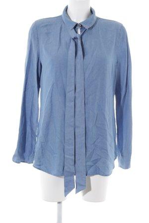 Boss Orange Langarm-Bluse himmelblau Casual-Look