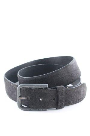 Boss Orange Cintura di pelle nero stile casual