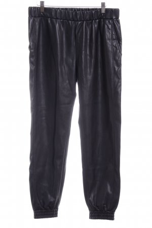 Boss Orange Leather Trousers black casual look