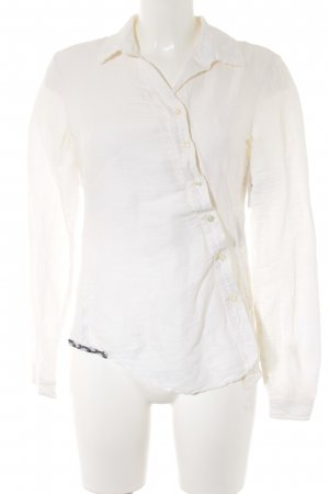 Boss Orange Linen Blouse natural white casual look