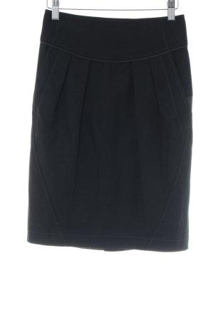 Boss Orange Falda midi negro elegante