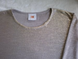 BOSS Orange Pullover Farbe: GOLD-SAND