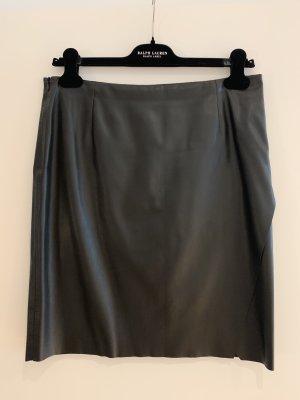 Boss Orange Rok van imitatieleder zwart Polyester