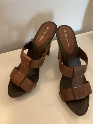 Boss Orange High Heel Sandal brown-dark brown