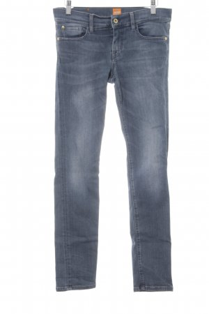 Boss Orange Skinny Jeans blau Casual-Look