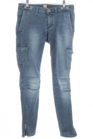 Boss Orange Skinny Jeans dunkelblau Casual-Look