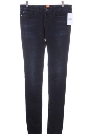 Boss Orange Skinny Jeans dunkelblau Casual-Look
