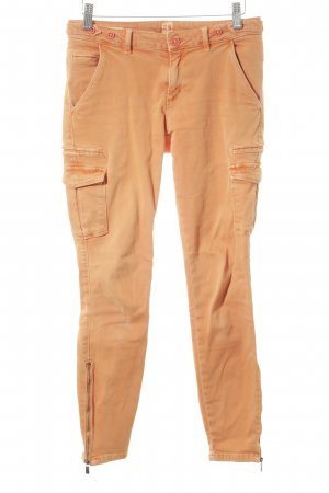Boss Orange Skinny Jeans dunkelorange Casual-Look