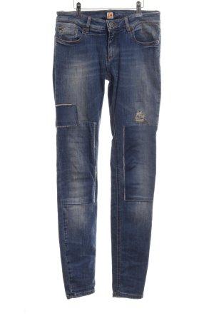 Boss Orange Skinny Jeans blau Street-Fashion-Look