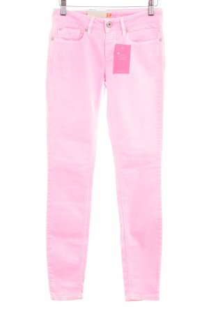 Boss Orange Skinny Jeans neon pink extravagant style