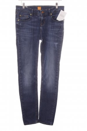 Boss Orange Slim Jeans blau Casual-Look