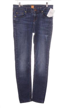 Boss Orange Slim Jeans blau Casual-Look