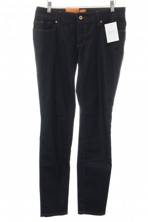 Boss Orange Slim Jeans dunkelblau Casual-Look