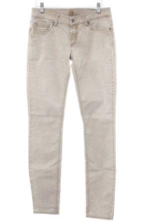 Boss Orange Slim jeans licht beige-beige casual uitstraling