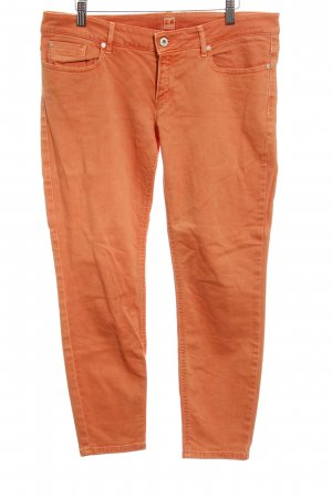 Boss Orange Slim Jeans orange Colourblocking Casual-Look