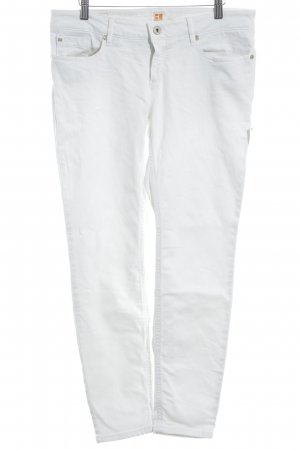 Boss Orange Slim Jeans weiß schlichter Stil