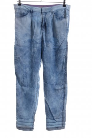 Boss Orange Stoffhose blau Casual-Look