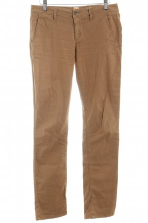 Boss Orange Stoffhose sandbraun Casual-Look