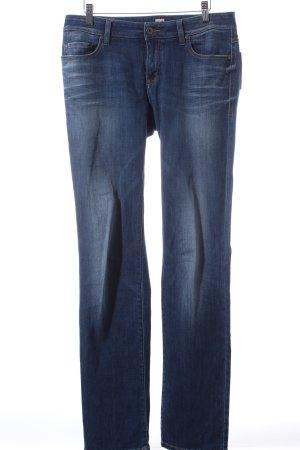 Boss Orange Straight-Leg Jeans dunkelblau Casual-Look