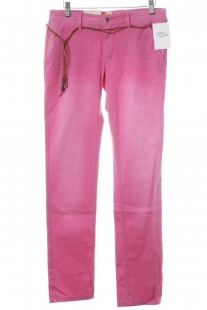 Boss Orange Straight-Leg Jeans rosa Casual-Look