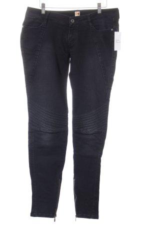 Boss Orange Straight-Leg Jeans schwarz Washed-Optik