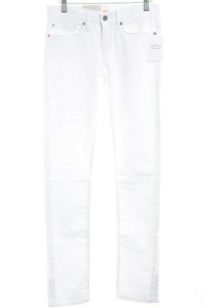 Boss Orange Straight-Leg Jeans weiß Casual-Look