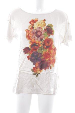Boss Orange T-Shirt Blumenmuster Casual-Look