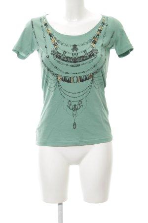 Boss Orange T-Shirt Motivdruck Casual-Look
