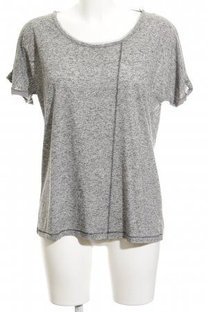 Boss Orange T-Shirt grau-schwarz meliert Casual-Look