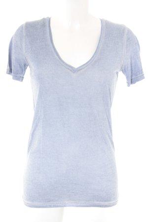 Boss Orange T-Shirt graublau Casual-Look
