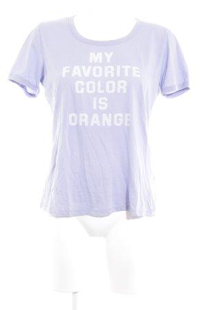 Boss Orange T-Shirt helllila Casual-Look
