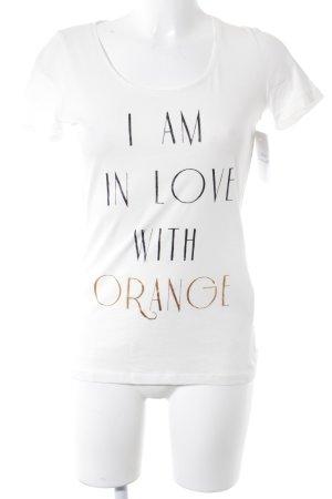 Boss Orange T-Shirt mehrfarbig Casual-Look