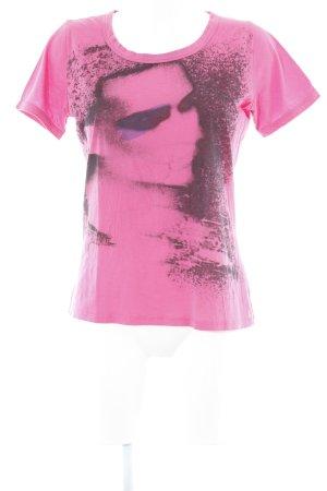 Boss Orange T-Shirt platzierter Druck Casual-Look