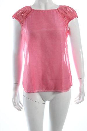 Boss Orange T-Shirt rosa schlichter Stil