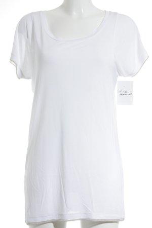 Boss Orange T-Shirt weiß-goldfarben klassischer Stil