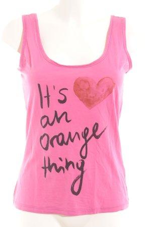 Boss Orange Tanktop Schriftzug gedruckt Casual-Look